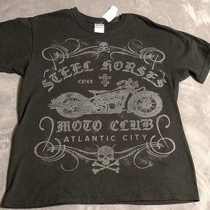 (4/$20) Steel horse Atlantic City t-shirt